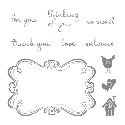 Sweetly Framed Hostess-only stamp set