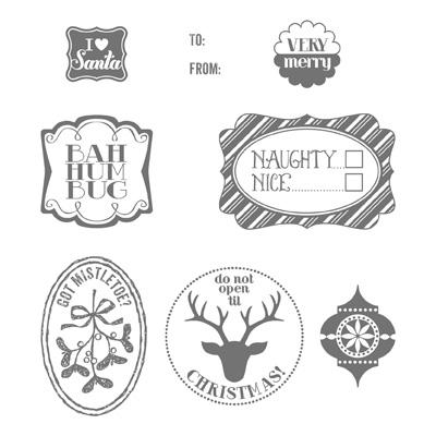 Very Merry Tags - holiday catalog