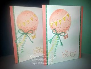 Celebrate Today baby cards WM